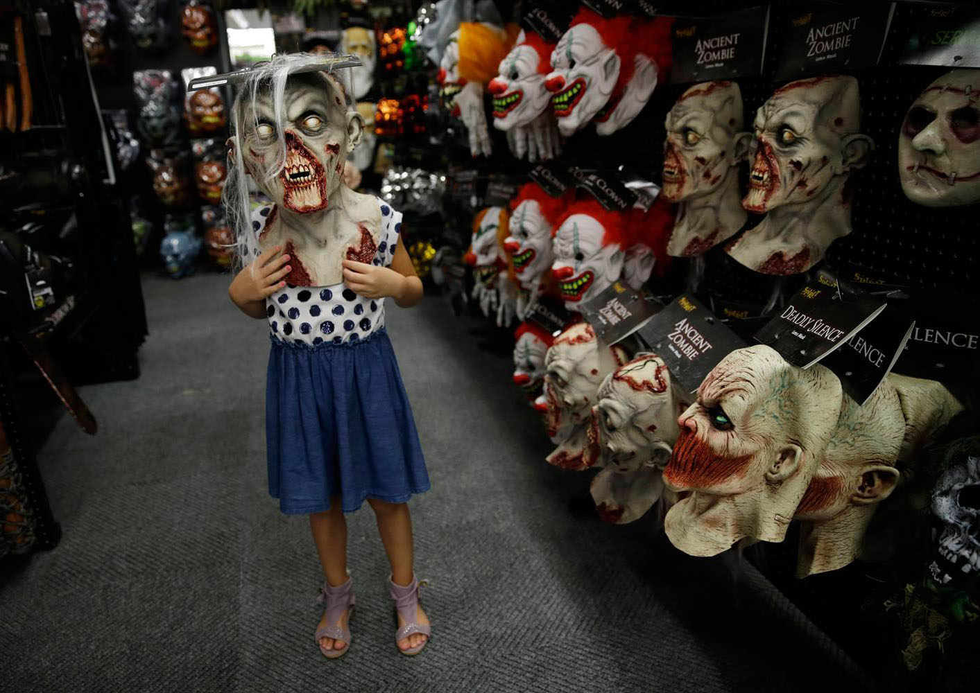 Halloween Store Masks Costumes