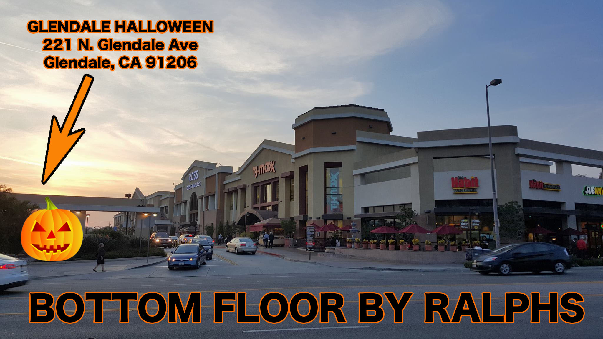 Halloween-Store-Glendale-Fashion-Center-Los-Angeles