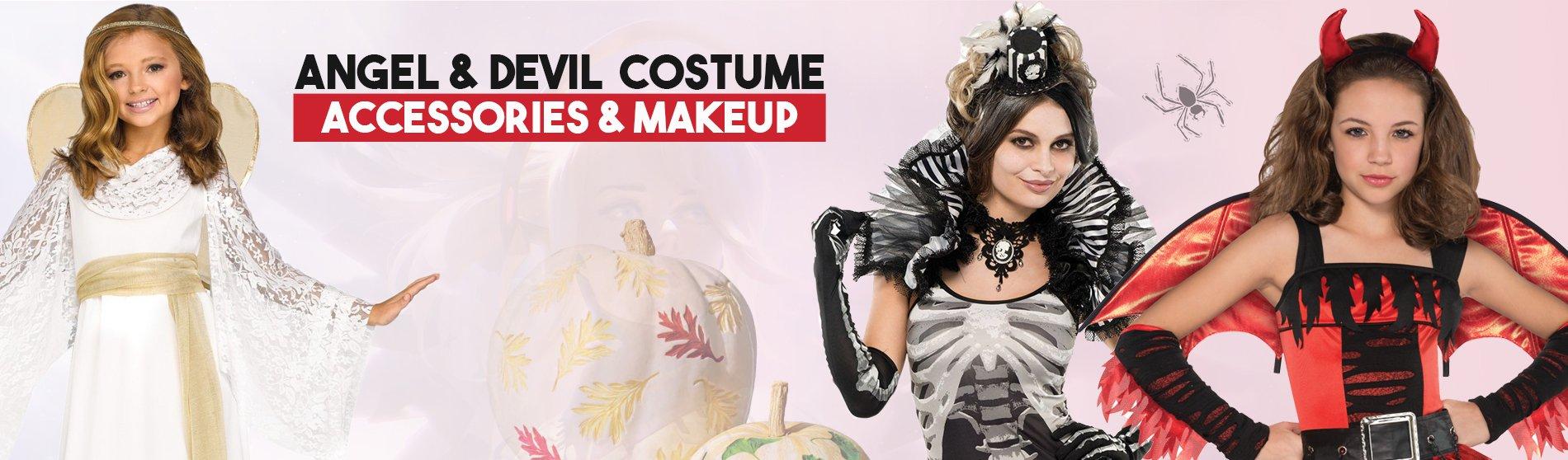 Angel-Devil-Costume-Accessorie-Makeup
