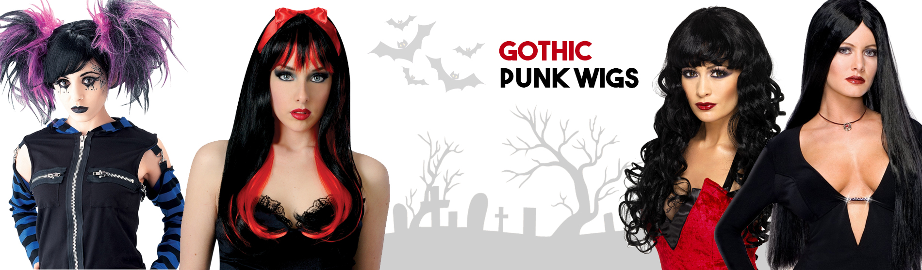 Gothic-Punk-Wigs