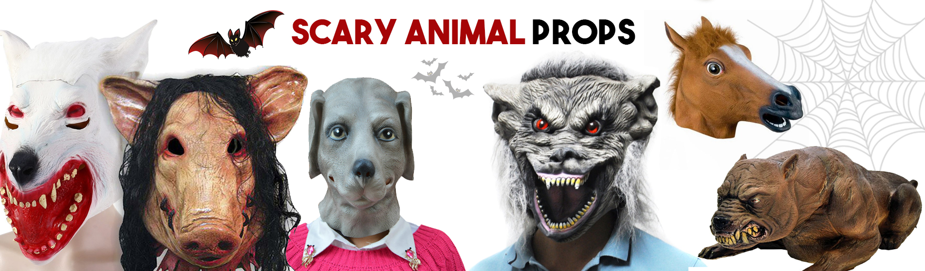 Scary-Animal-Props
