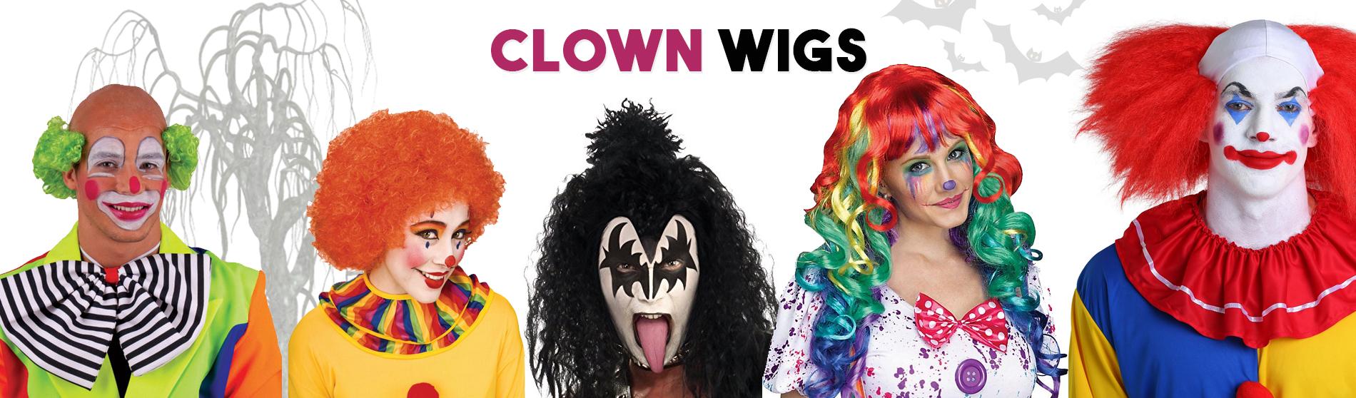 clown-wigs