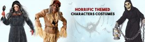 Horrific Themed Characters