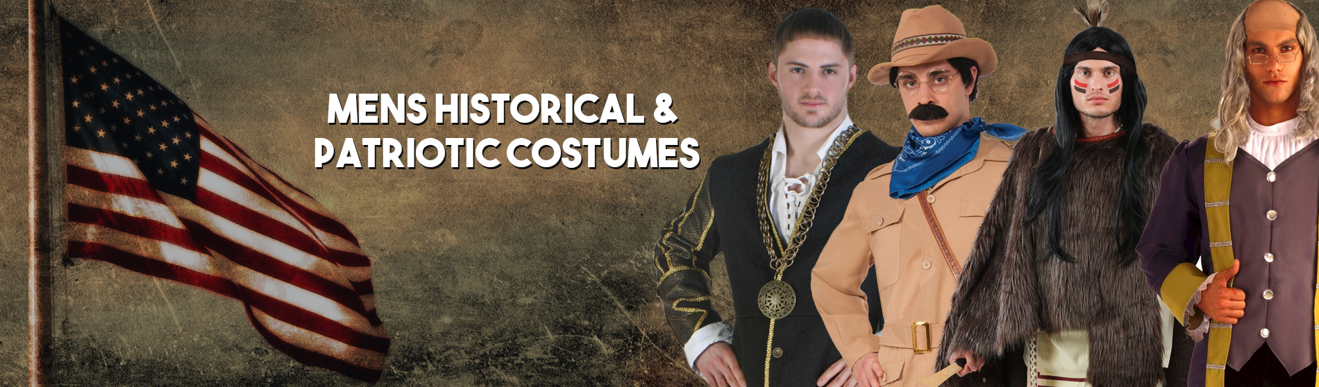 Mens Historical and Patriotic Costumes