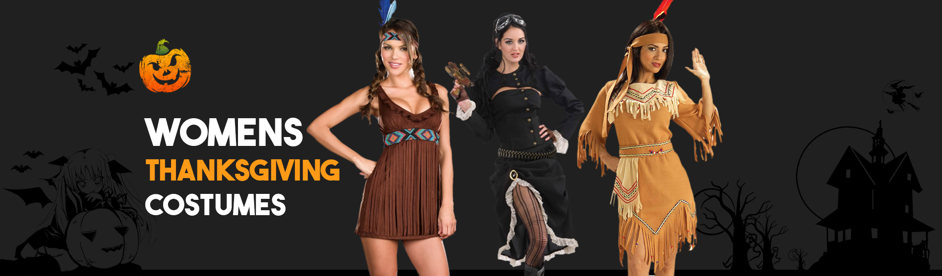 Womens Thanksgiving Costumes