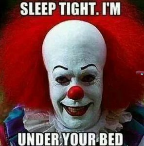 Halloween Meme Clown Mask