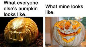 Halloween Memes Pumpkin Carving