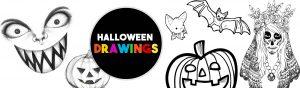 Halloween-Drawings