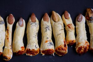 Halloween Food Dinner Bread Fingers