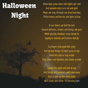 Halloween Poems 2
