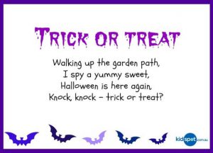 Halloween Riddles Trick or Treat