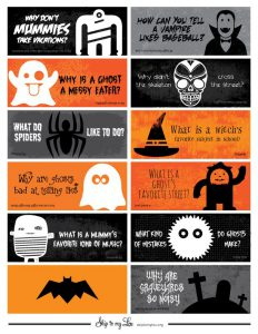 Halloween Riddles skeletons ghosts