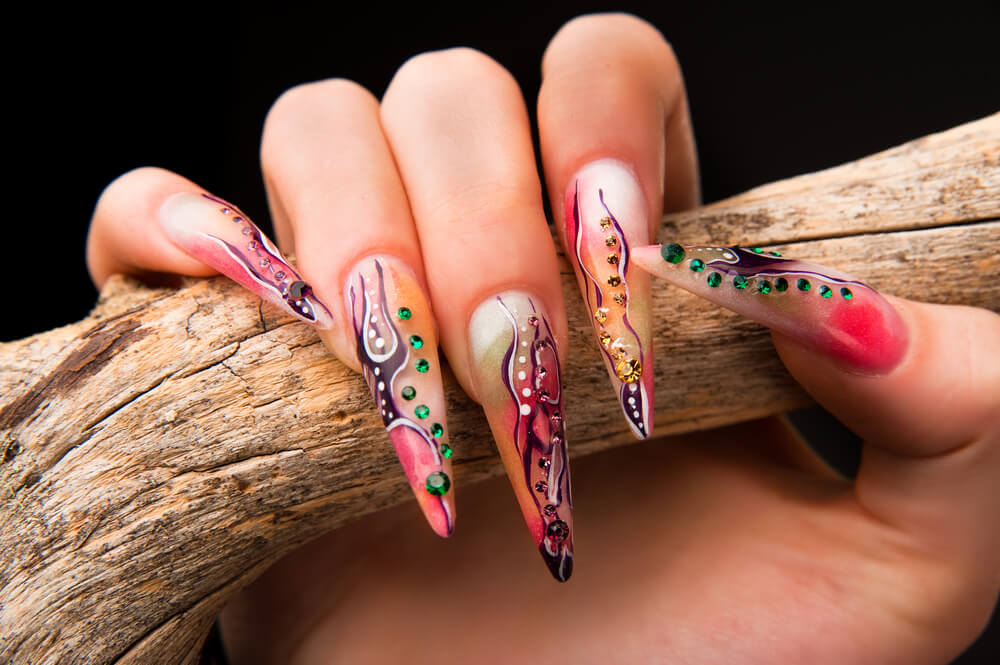 Halloween Nail Designs, Halloween Nail Art | GlendaleHalloween