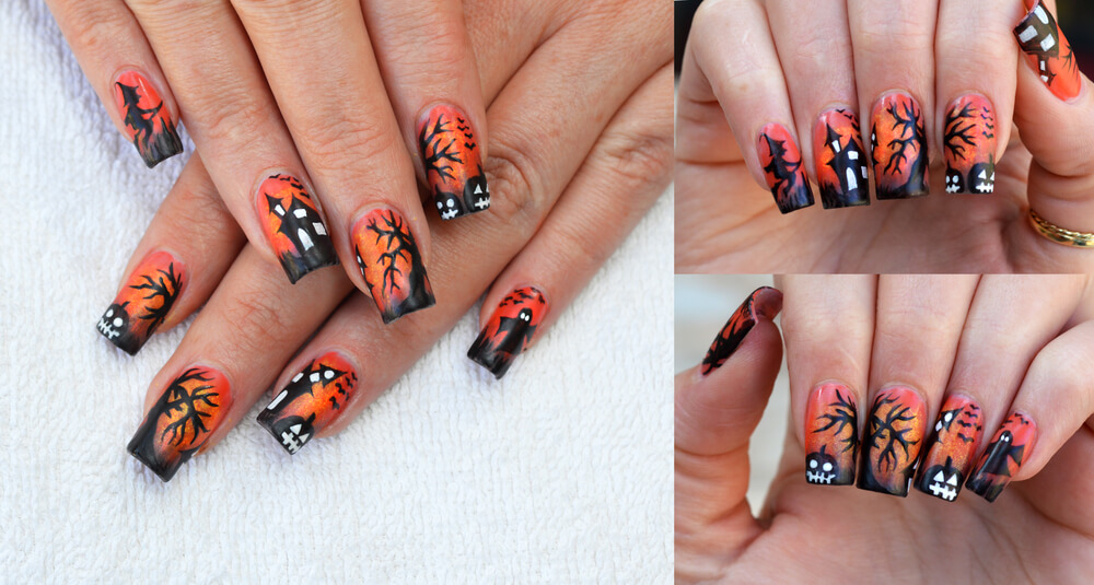 Halloween Nail Designs 2