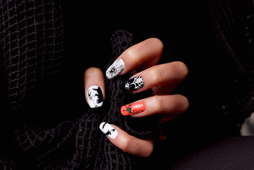 Halloween Nail Designs 3
