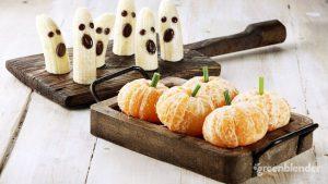 Healthy Halloween Banana Treats