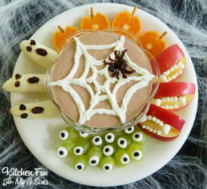 Healthy Halloween Fruit Plate