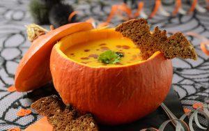 Healthy Halloween Soup Treats