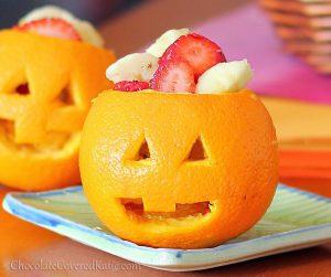 Healthy Halloween Treats Fruits