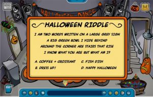 halloween riddles pumpkin and spiders