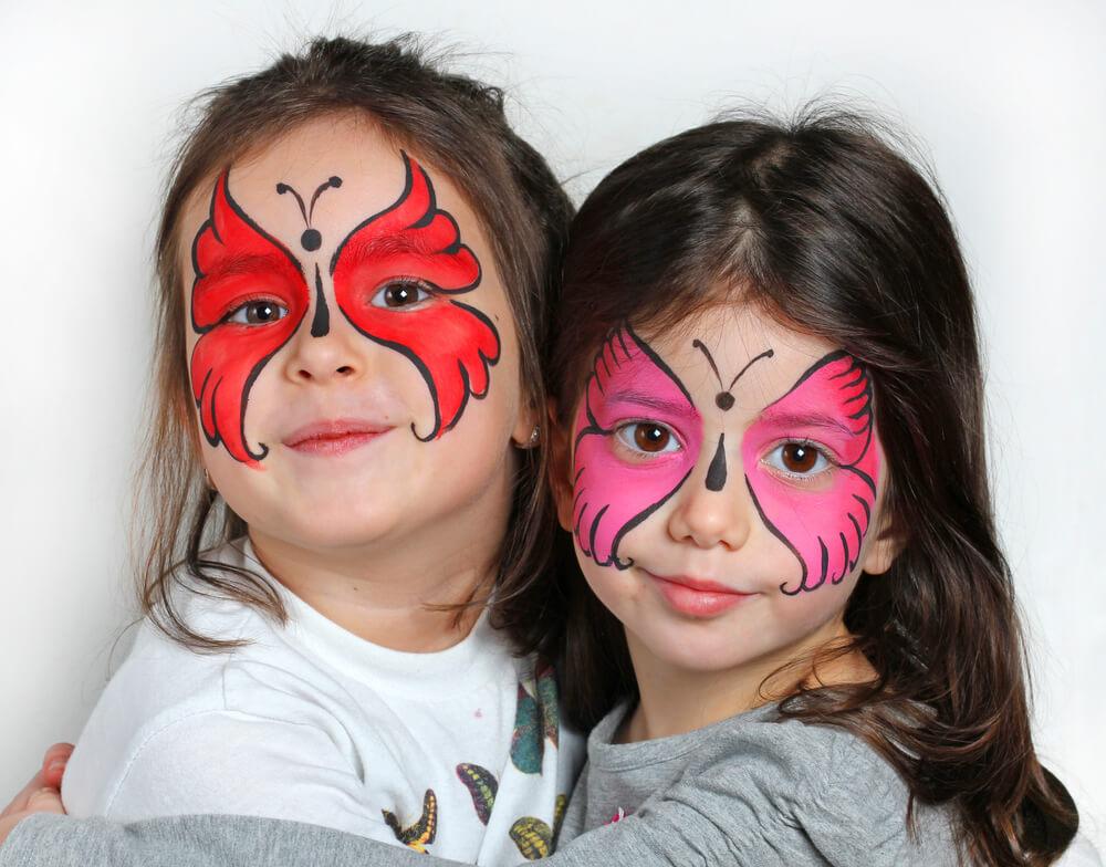 halloween face paint idea