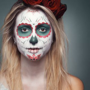 Halloween Face Paint Idea 2