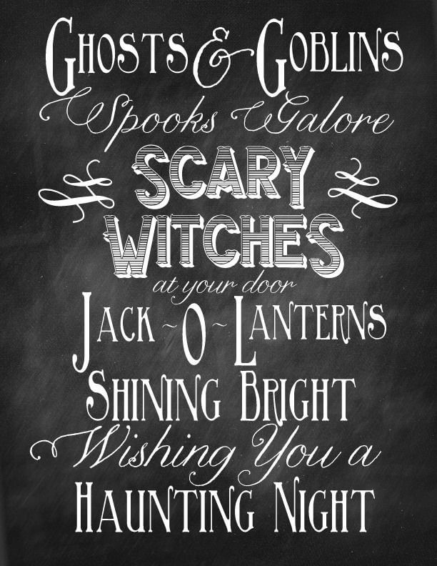 Happy Halloween Quotes Scary Witches