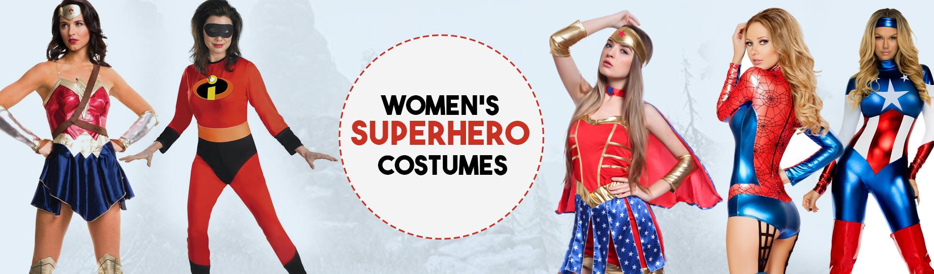 Womens Superhero Costumes