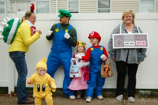 Group costumes for families