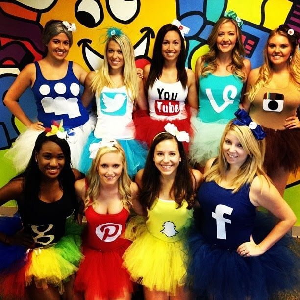 Social Media Halloween Costumes