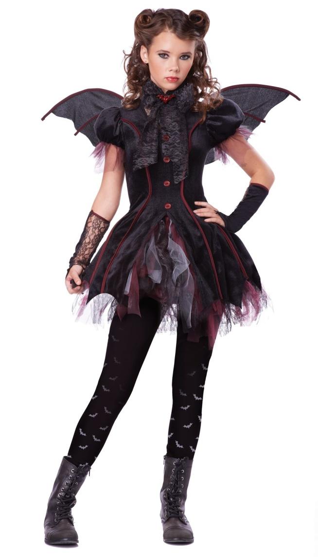 Black Wings Halloween Vampire