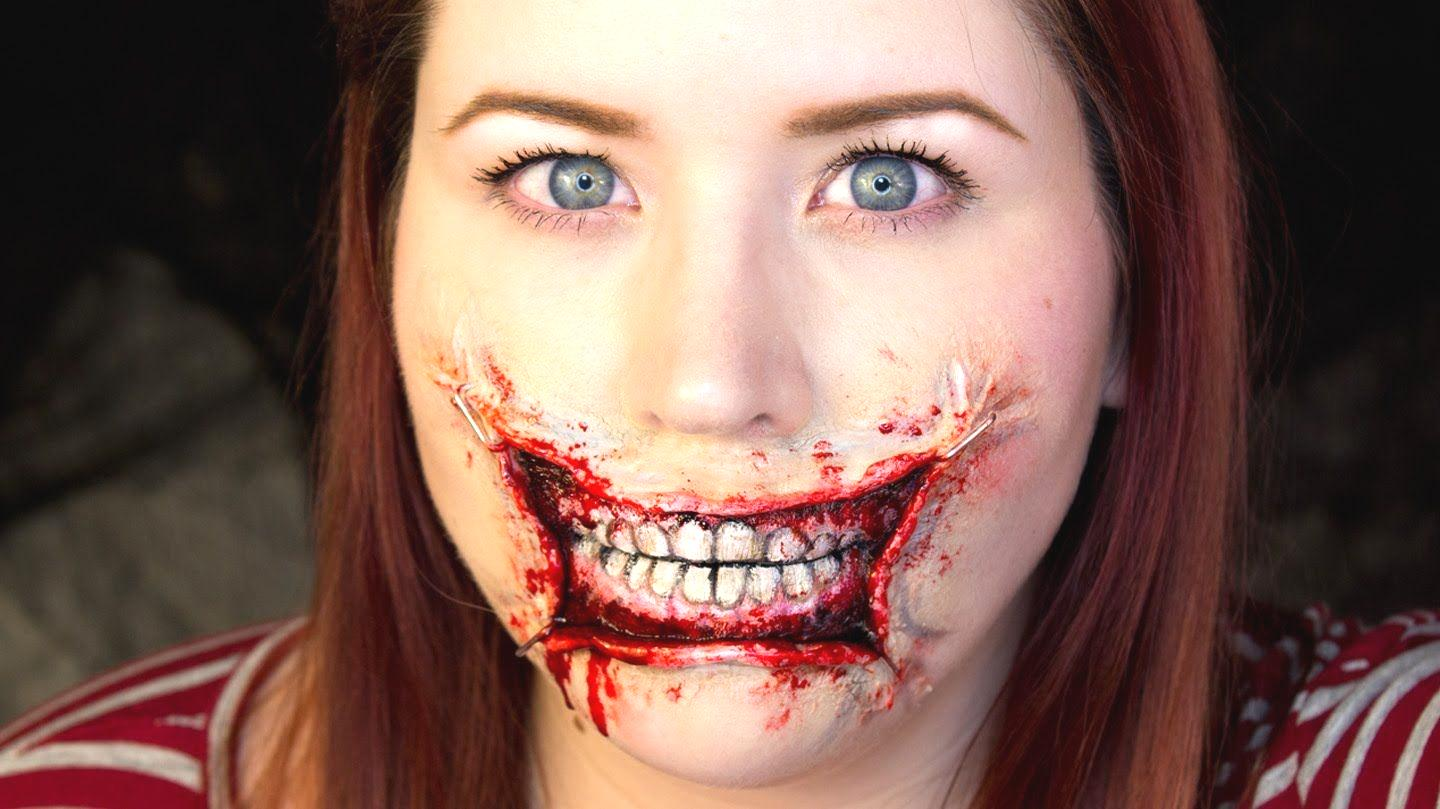 Halloween Zombie Mouth Makeup