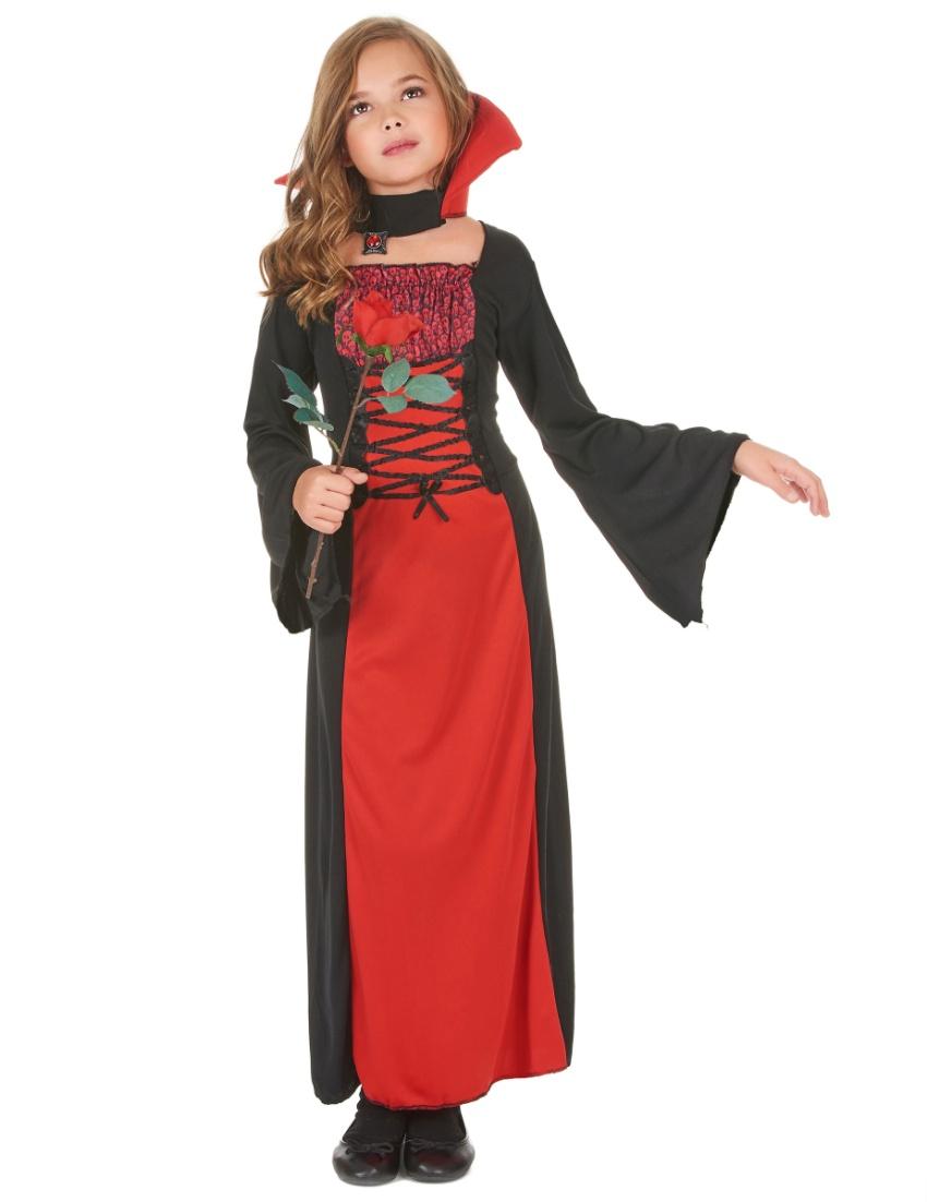 Romantic Vampiry Dress For Halloween