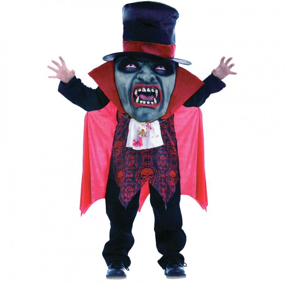 Scary Mask and Outfit For Halloween