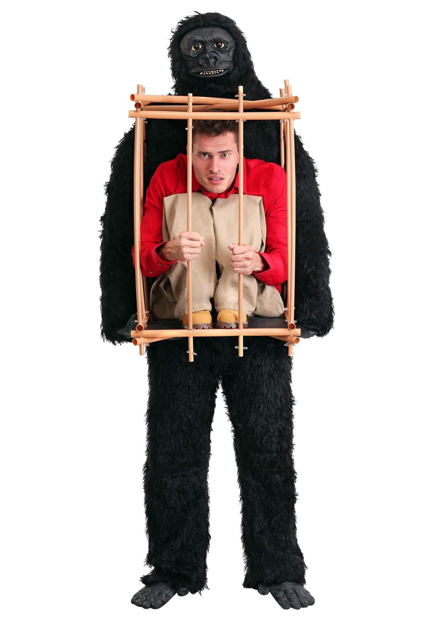 Gorilla Cage Halloween Costume