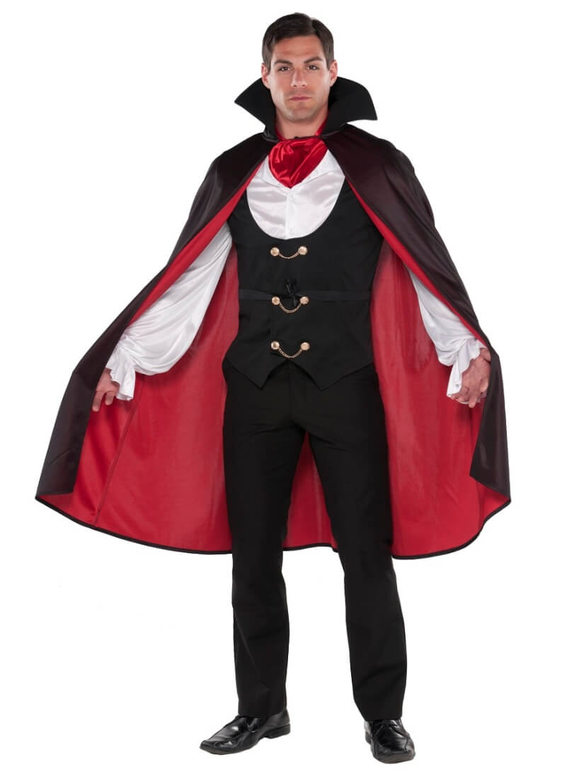 Handsome Vampire Cape For Halloween