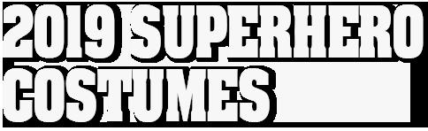 2019 supernero costumes